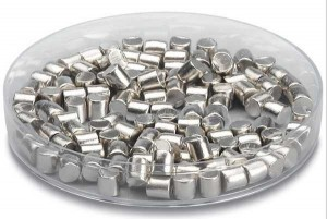 Silver pellets for e-beam